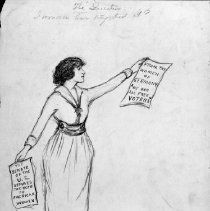Image of Nina Allender Political Cartoon Collection - 1918.002.031