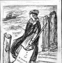 Image of Nina Allender Political Cartoon Collection - 1918.002.033