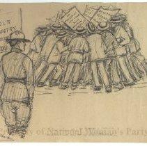 Image of Nina Allender Political Cartoon Collection - 1918.002.034