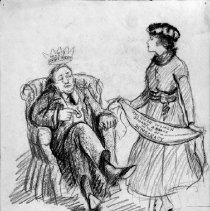 Image of Nina Allender Political Cartoon Collection - 1919.002.003