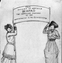 Image of Nina Allender Political Cartoon Collection - 1919.002.007