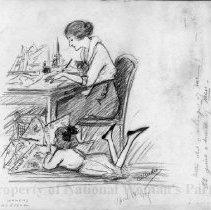 Image of Nina Allender Political Cartoon Collection - 1919.002.009