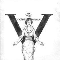 Image of Nina Allender Political Cartoon Collection - 1919.002.012