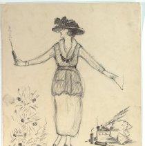 Image of Nina Allender Political Cartoon Collection - 1919.002.016
