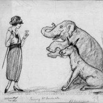 Image of Nina Allender Political Cartoon Collection - 1920.003.001