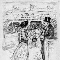 Image of Nina Allender Political Cartoon Collection - 1920.003.002
