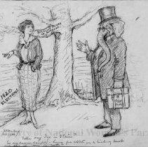 Image of Nina Allender Political Cartoon Collection - 1920.003.005