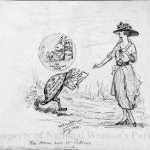 Image of Nina Allender Political Cartoon Collection - 1920.003.006