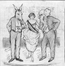 Image of Nina Allender Political Cartoon Collection - 1920.003.007