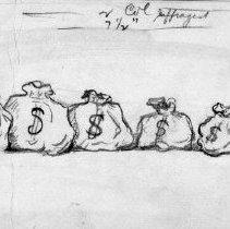 Image of Nina Allender Political Cartoon Collection - 1920.003.010