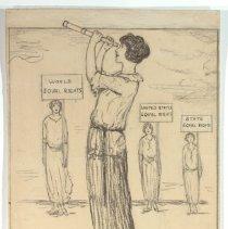 Image of Nina Allender Political Cartoon Collection - 1923.002.005
