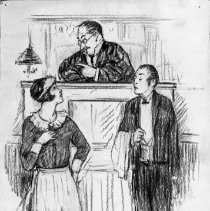 Image of Nina Allender Political Cartoon Collection - 1924.002.004
