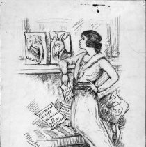 Image of Nina Allender Political Cartoon Collection - 1925.001.003