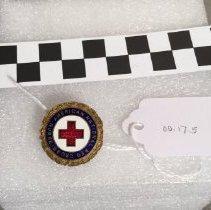 Image of 00.17.5 Pin, Lapel, Red Cross