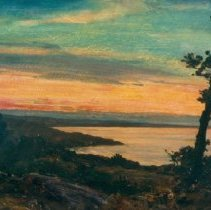 Image of Butler, Howard Russell - Sunset from the Cliff, Ogunquit