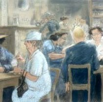 Image of Bacon, Peggy - At the Soda Shop