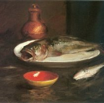 Image of Chase, William Merritt - Fish Still Life