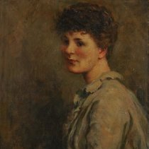 Image of Beckwith, James Carroll - Portrait of a Young Lady