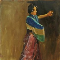Image of Luks, George Benjamin - Spanish Dancer