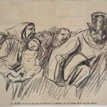 Image of Jean Louis Forain, Doux Pays (Sweet Country), 1897, Lithograph, 10x16in