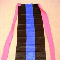 Image of Thia Thao, Young Woman's New Year's Jacket (apron), Hmong, 1983, Cotton
