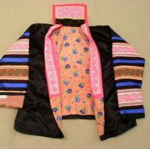 Image of Thia Thao, Young Woman's New Year's Jacket, Hmong, 1983, Cotton