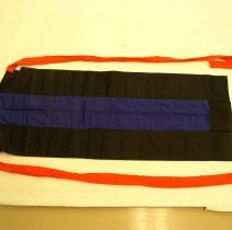 Image of Sao Vang, Girls Apron, White Hmong,Thailand,1975, Cotton