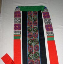 Image of Xia Thao, Apron, Hmong, 1989, Cotton