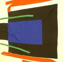 Image of Cher Moua Thao, Child carrier cover (nyias khiab), Hmong, ca1990, Cotton