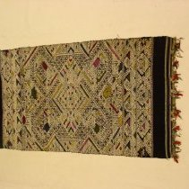 Image of Artist unknown, Shawl (Pha biang), early 20thcent, Hmong, Cotton/Silk/Metal