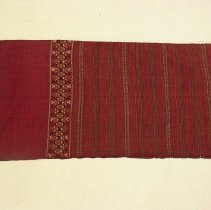 Image of Artist unknown, Wedding Blanket (pha hom), early 20thcent, Hmong, Silk