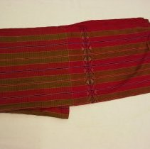 Image of Artist unknown, Cloth (pha kama), early 20thcent, Hmong, Silk
