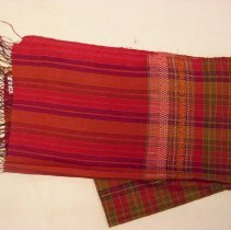 Image of Artist unknown, Man's Wedding Sash, early 20thcent, Hmong, Silk