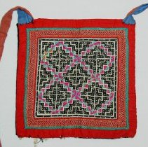 Image of Mai Thai,Purse,Sam Neua, Laos,1949,Hmong