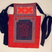 Image of Artist unknown, Baby carrier, (Nyias), Hmong, 1988, Cotton/Nylon