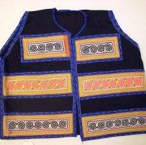 Image of Mai Lor, Vest, ca 1970, Hmong, Cotton