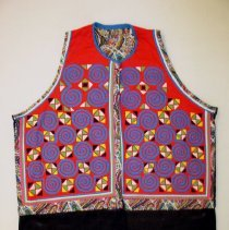 Image of Ying Thao, Vest, Hmong, 1976, Cotton