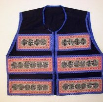 Image of Ying Thao, Vest, Hmong, 1966, Cotton