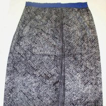 Image of Ying Yang, Woman's Sarong Skirt, 1969, Hmong, Cotton/batik
