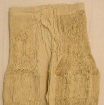 Image of Sao Vang, Funeral skirt (tiab dawb), Sam Neau, Laos, Hmong, 1967, Muslin