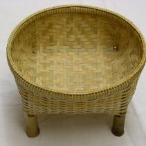 Image of Artist unknown, Double-walled basket, Lao Hmong, 1990, Bamboo