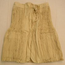 Image of Artist unknown, Funeral skirt, White Hmong, Sam Neua, Laos, Cotton/hemp