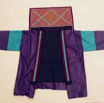 Image of Ying Lee, Tsho laug (Funeral Jacket), Hmong, 1988, Fabric