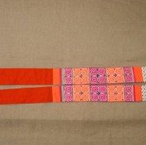 Image of Xia Thao, Sash, Hmong, 1988, Cotton/Flannel