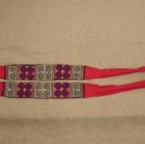 Image of Sao Vang, Sash, Sam Neau, Laos, Hmong, 1959, Fabric