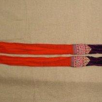 Image of Pa Lov, Tw Siv (Tail Sash), 1927, Cotton