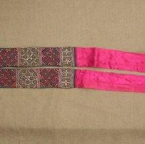 Image of Mai Thao, Sash, 1949, Hmong, Sam Neua, Laos, Cotton/silk
