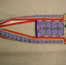 Image of Thia Thao,Shoulder bag,Sam Neua, Ban Vinai Refugee Camp,Hmong,1978,Cotton