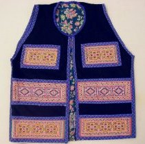 Image of Va Vang, Money vest, Sam Neua, Roob Dag Laos, 1976, Fabric