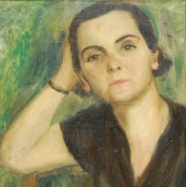 Image of Brown, Frances Carroll - Portrait of Helena Mavro